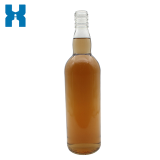 Favorable Price 700ml Clear Whisky Glass Bottle