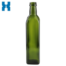 500ml Dark Green Oil Glass Bottle