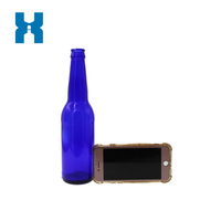 Beer Bottle 330ml Blue Beer Glass Bottle Glass Beer Bottle
