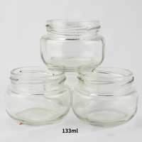 Honey Packing Clear 133ml Glass Jar