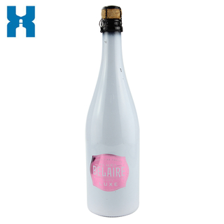Swing Top 750ml Champagne Glass Bottle