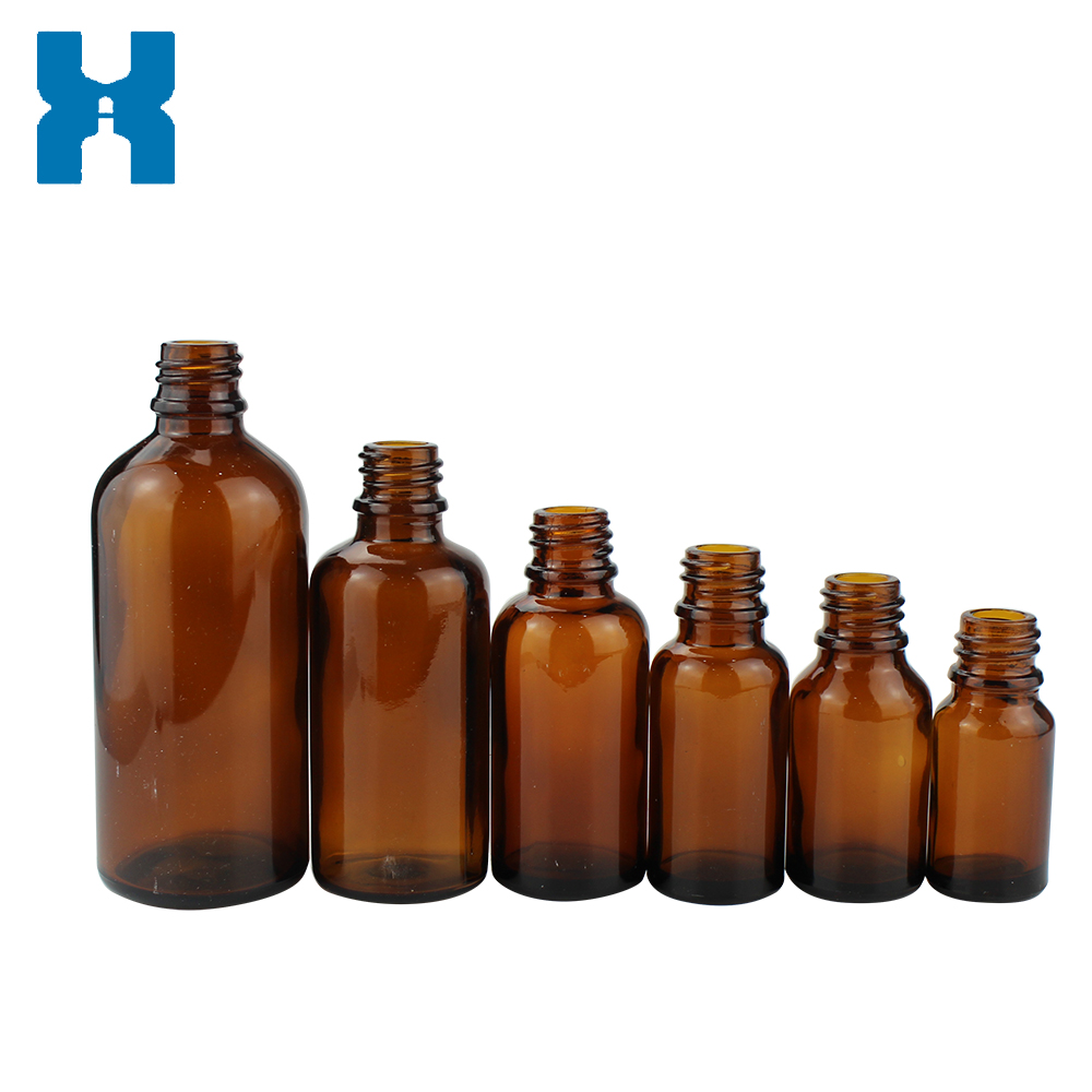 Amber 5ml Essential Oil Glass Bottle With Dropper