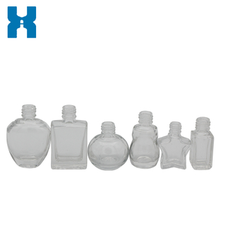 Low Price Clear Glass Bottle for Nail Polish Oil
