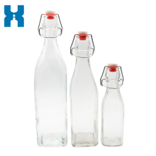 Swing Top 250ml 500ml 1000ml Juice Glass Bottle