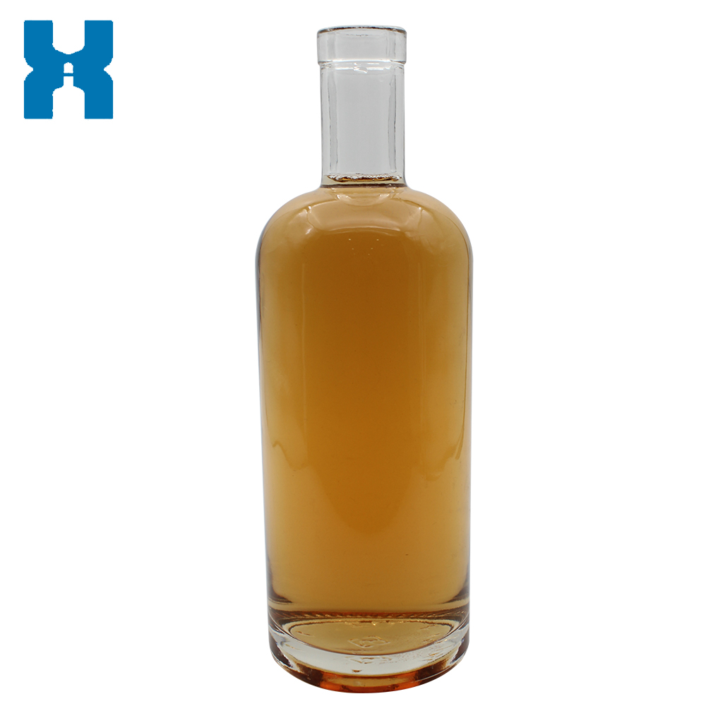 Hot Sale Basic 750ml Spirit Glass Bottle